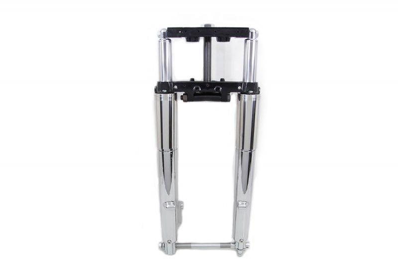 41mm Adjustable Fork Assembly with Chrome Sliders