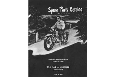 Hummer Spare Parts Catalog for 1948-1955